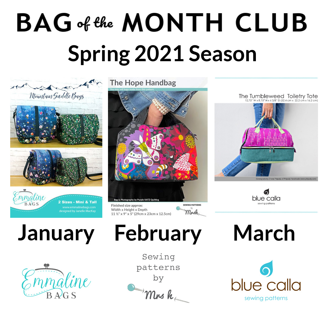 Bag of the Month Club Spring 2021